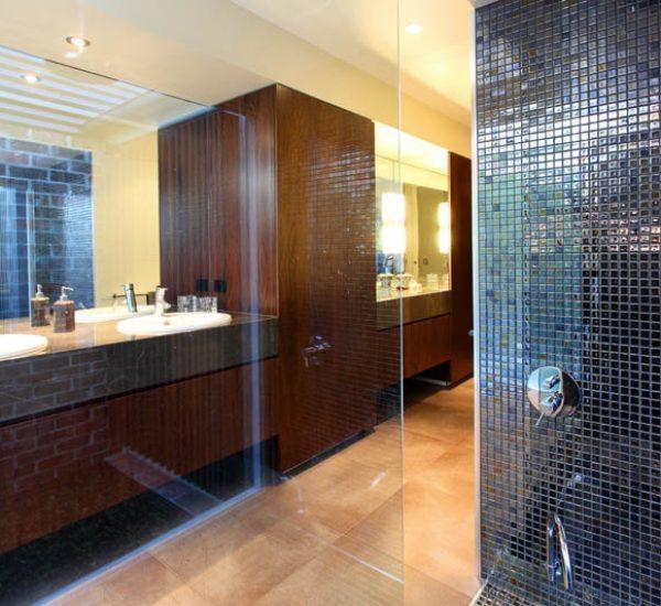 St Lucia Queenslander Renovation Bathroom