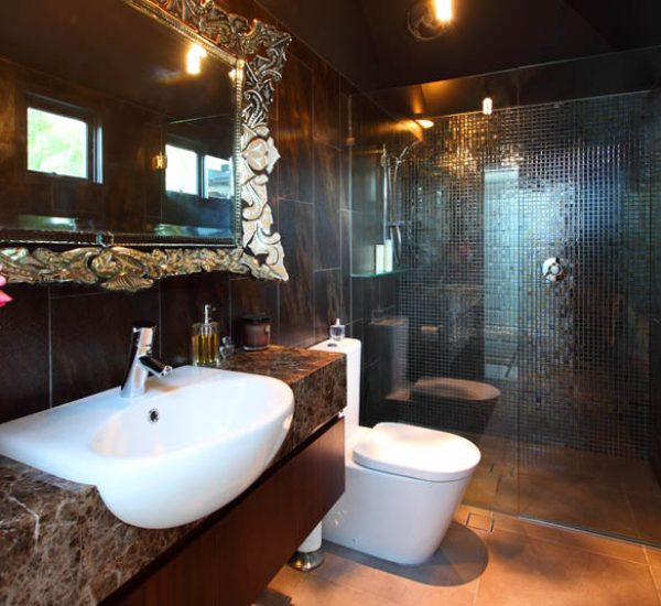 St Lucia Queenslander Renovation Bathroom
