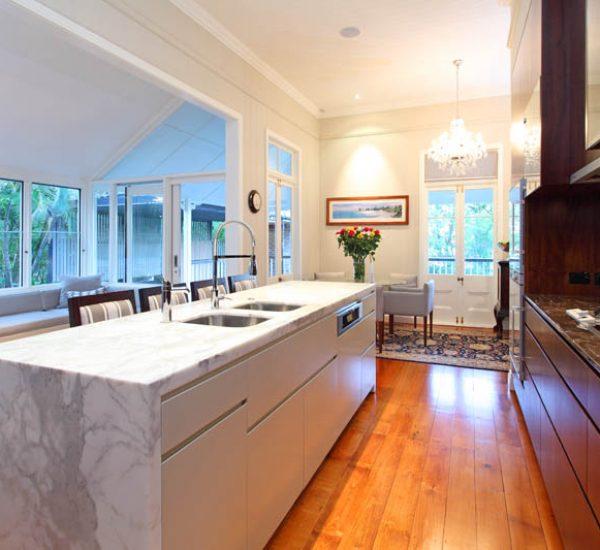 St Lucia Queenslander Renovation Kitchen